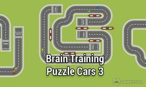 Play Brain Training   Puzzle Cars 3 on PC