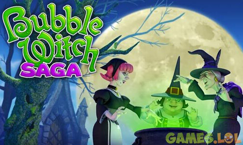 Bubble Witch Saga stella with witches