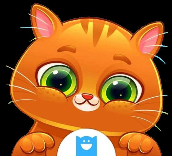 bubbu my virtual pet cute orange cat