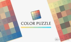 Play Color Puzzle Game + Download Free Hue Wallpaper on PC