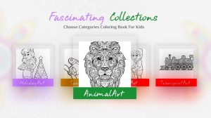 coloring book for me lion art
