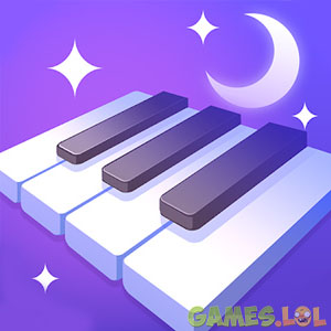 dream piano starry night