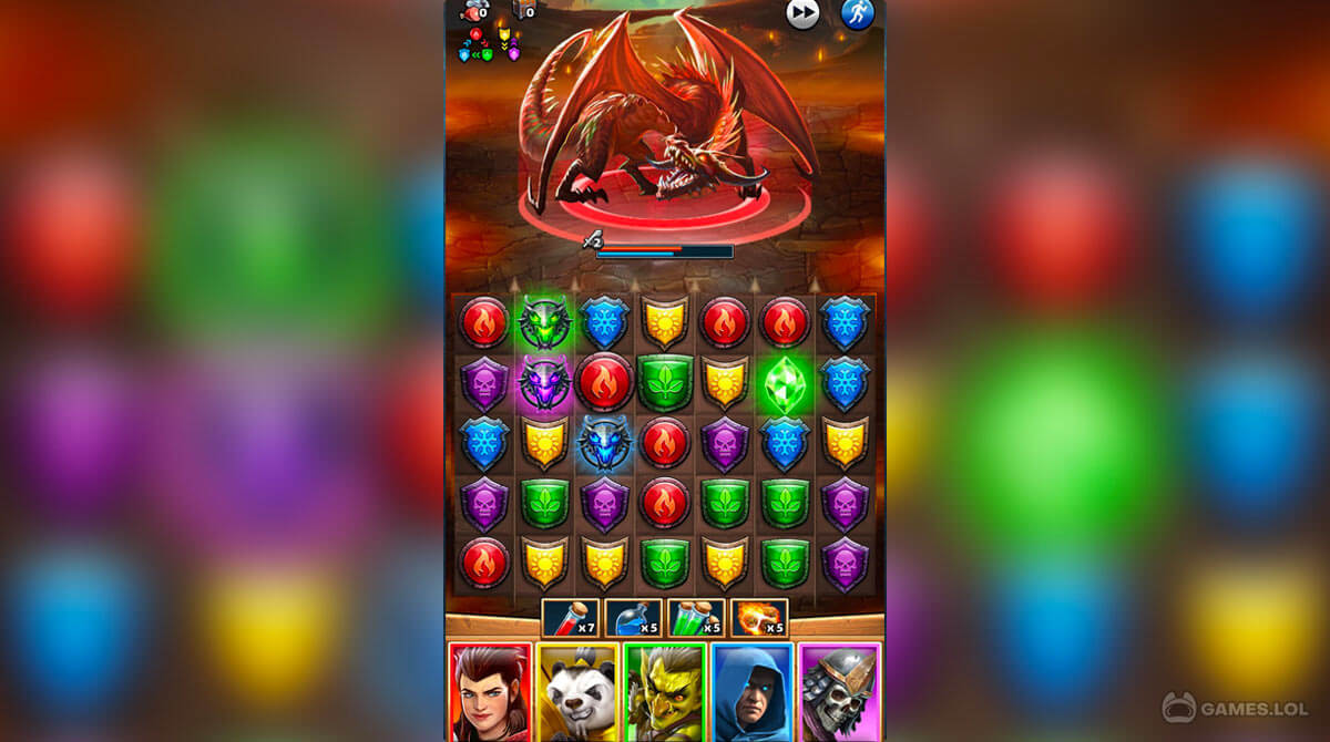 empires and puzzles download PC free