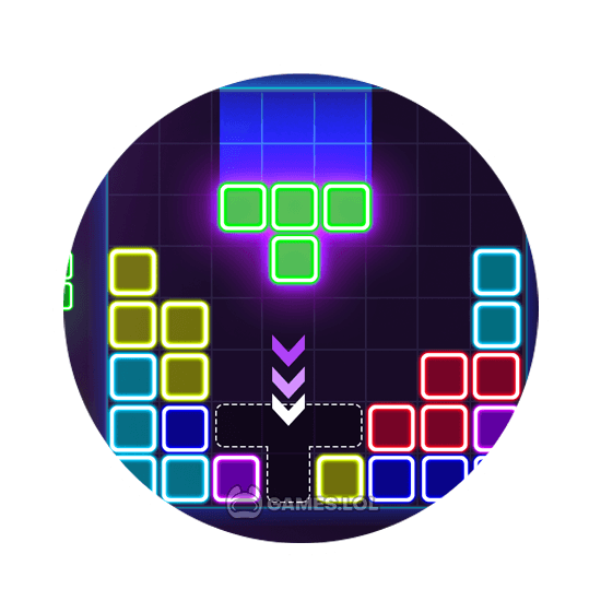 glow block puzzle download free pc