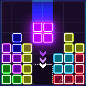 Play Glow Block Puzzle on PC