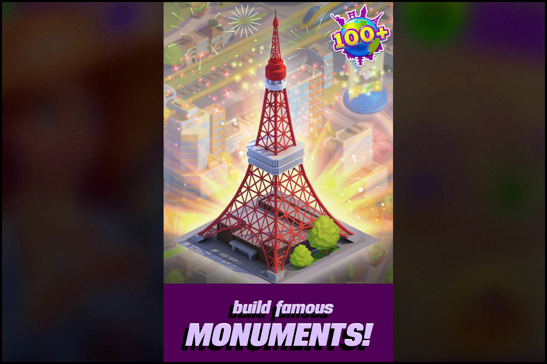 Gummy Drop Tokyo Tower