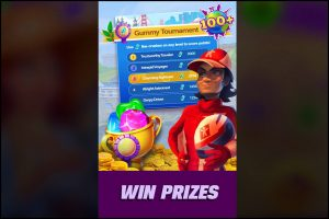 Gummy Drop Win Tournament And Get Prizes