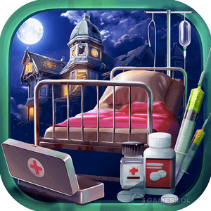 Play Haunted Hospital Asylum Escape Hidden Objects Game on PC