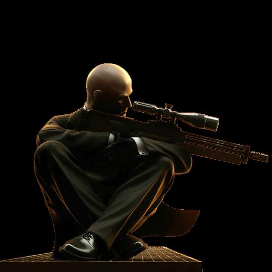 hitman sniper agent 47 target