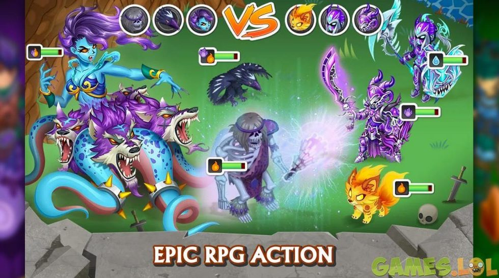 knights and dragons epic action