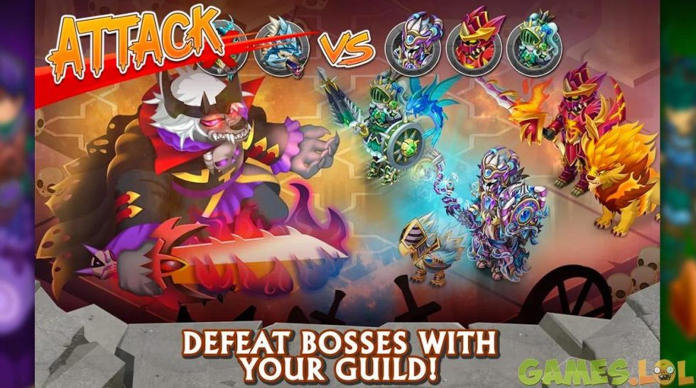 knights and dragons guild boss