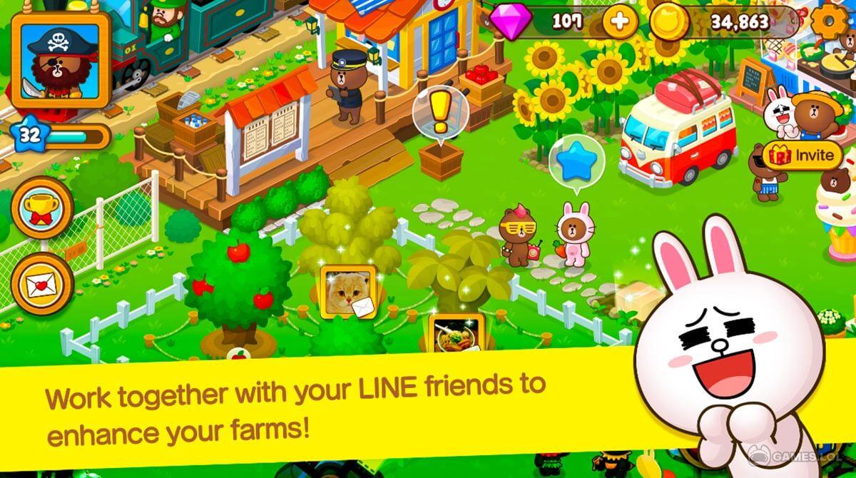line brown farm download full version