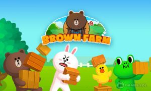 Play LINE BROWN FARM on PC