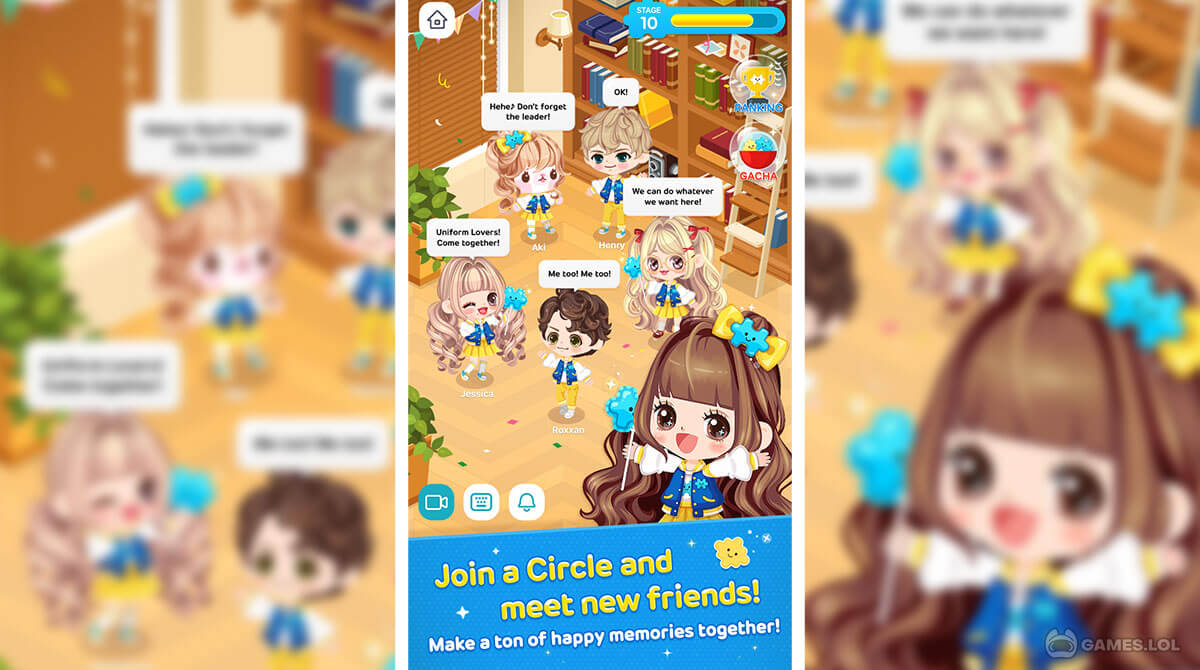 line play our avatar download free