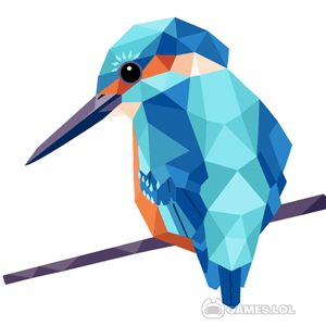 Play Low Poly Art – Color by Number, Number Coloring on PC