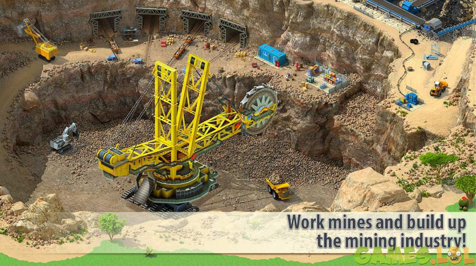 megapolis city mining industry