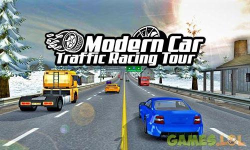 Play Modern Car Traffic Racing Tour – free games on PC
