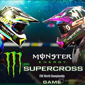 Play Monster Energy Supercross Game on PC