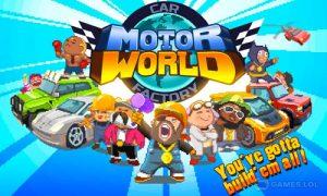 Play Motor World Car Factory on PC