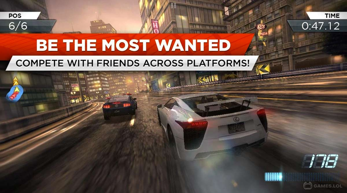 nfs mostwanted download PC free