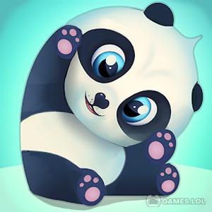 Play Pu – Cute giant panda bear, baby pet care game on PC