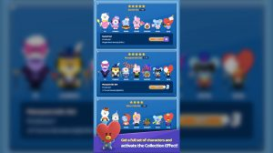 puzzle star bt21 activate collection effect