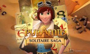 Play Pyramid Solitaire Saga on PC