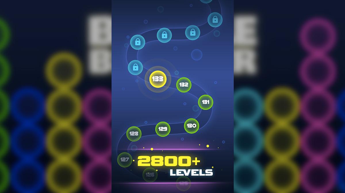 scifi bubble breaker finish levels