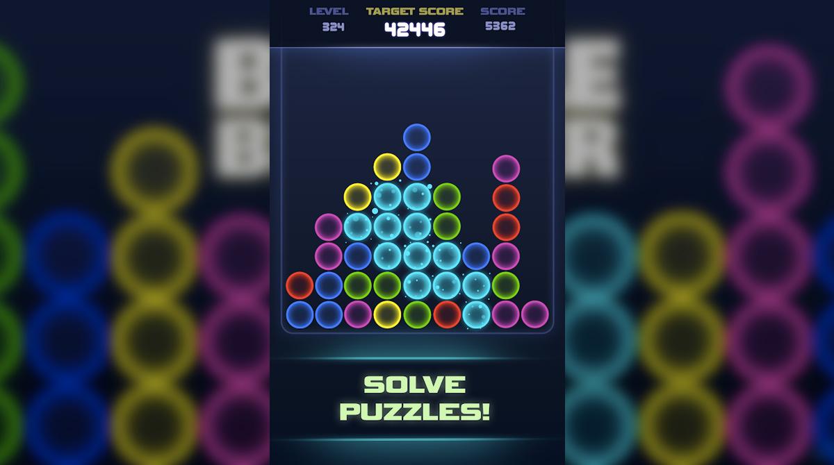 scifi bubble breaker solve puzzles