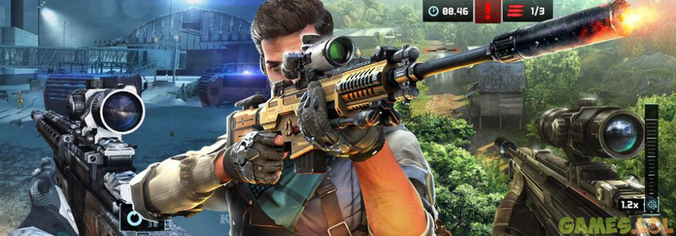 Sniper Fury: Top shooting game – FPS gun games Free PC Download