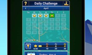 spider solitaire daily challenges trophies