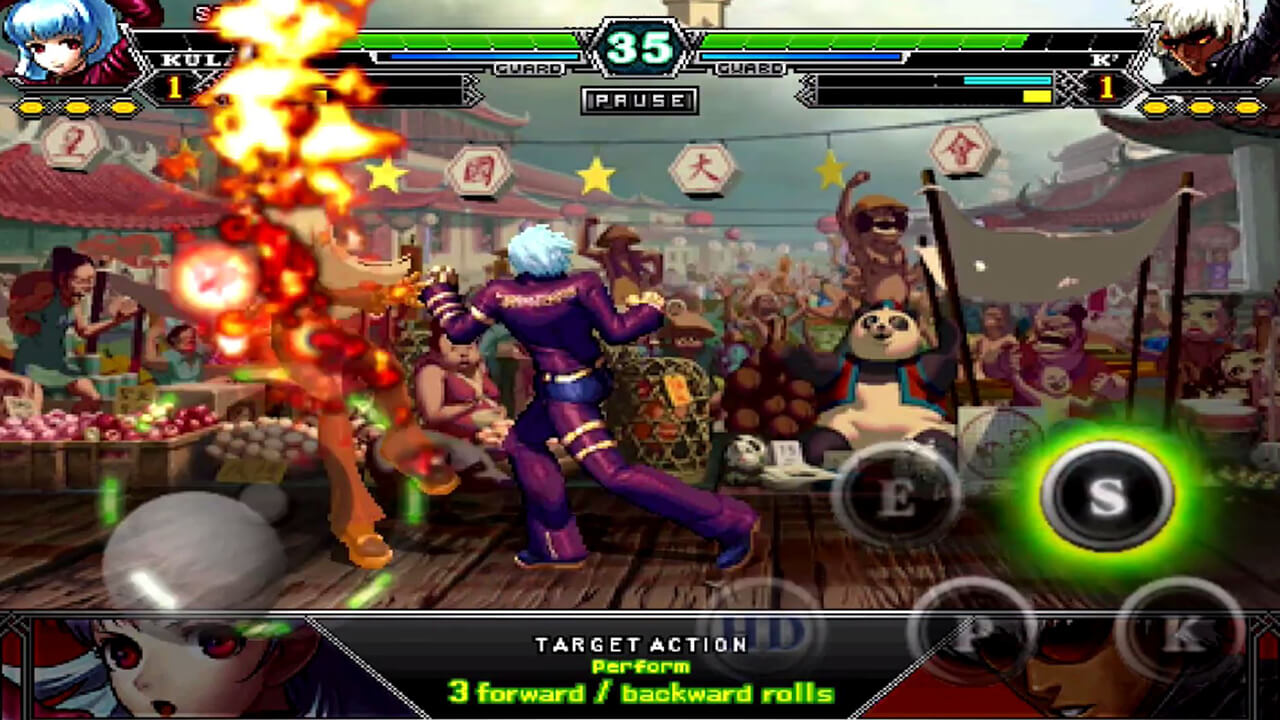 the king of fighters fight