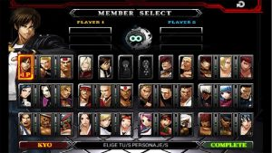 the king of fighters members