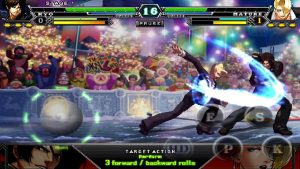 the king of fighters target