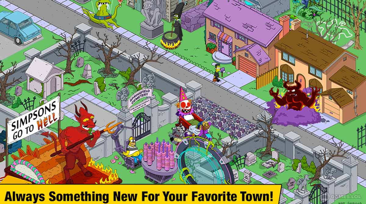 thesimpsons to download PC free