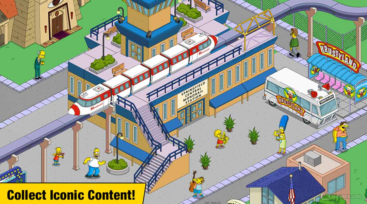 thesimpsons to download PC