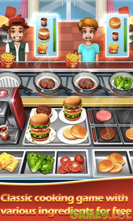 top cooking chef burgers