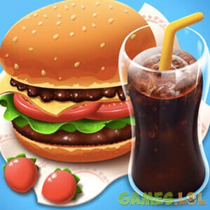 Top Cooking Chef Burger and Drinks