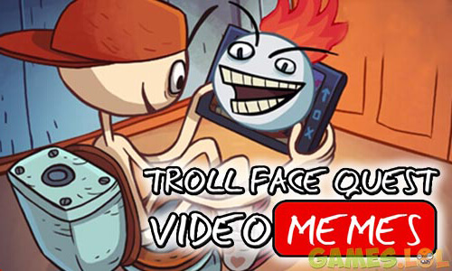 Play Troll Face Quest: Video Memes – Brain Game on PC