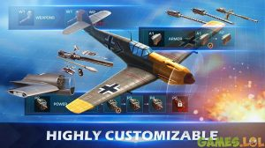 War Wings Upgrade Aircraft