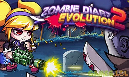 Play Zombie Diary 2: Evolution on PC