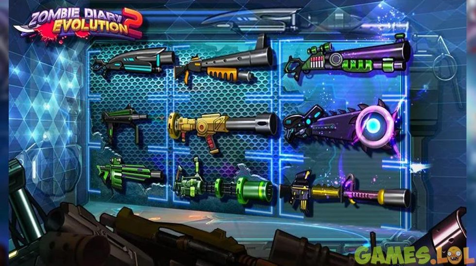 Zombie Diary 2 Evolution Weapons