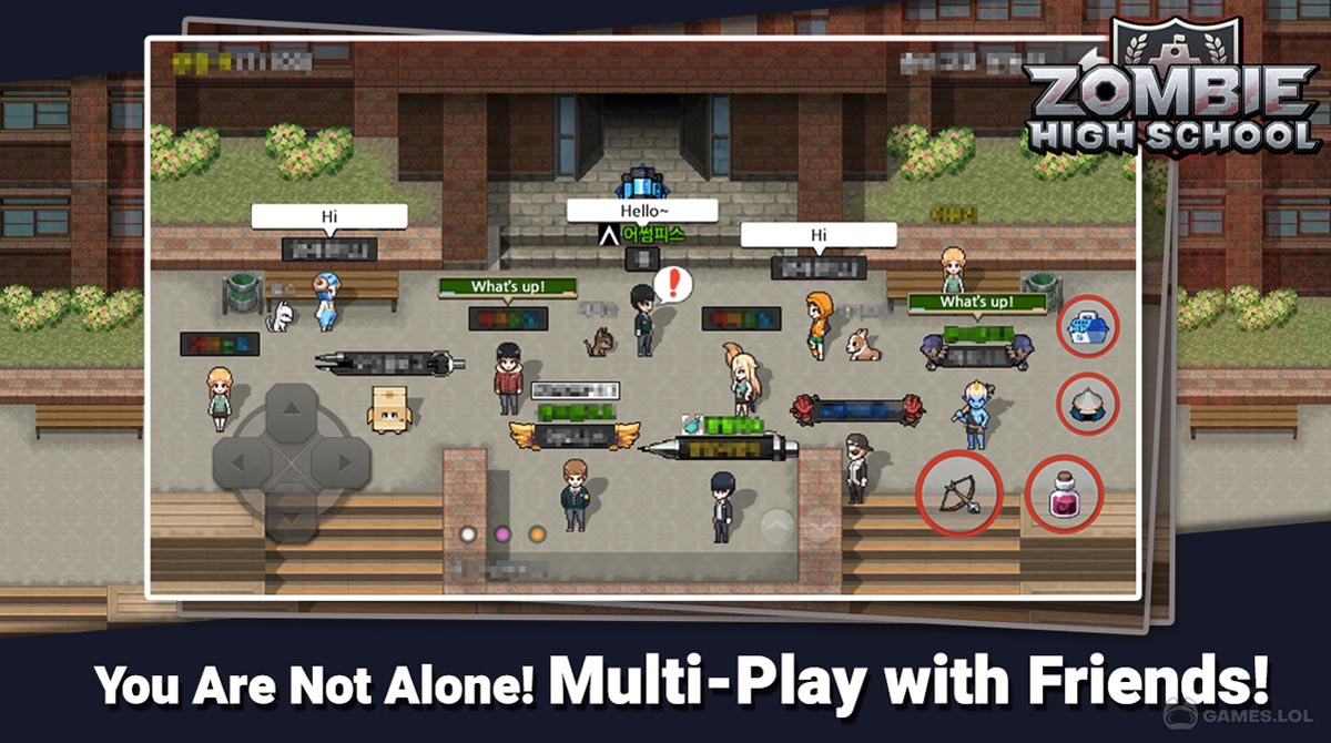 zombie high school download PC free