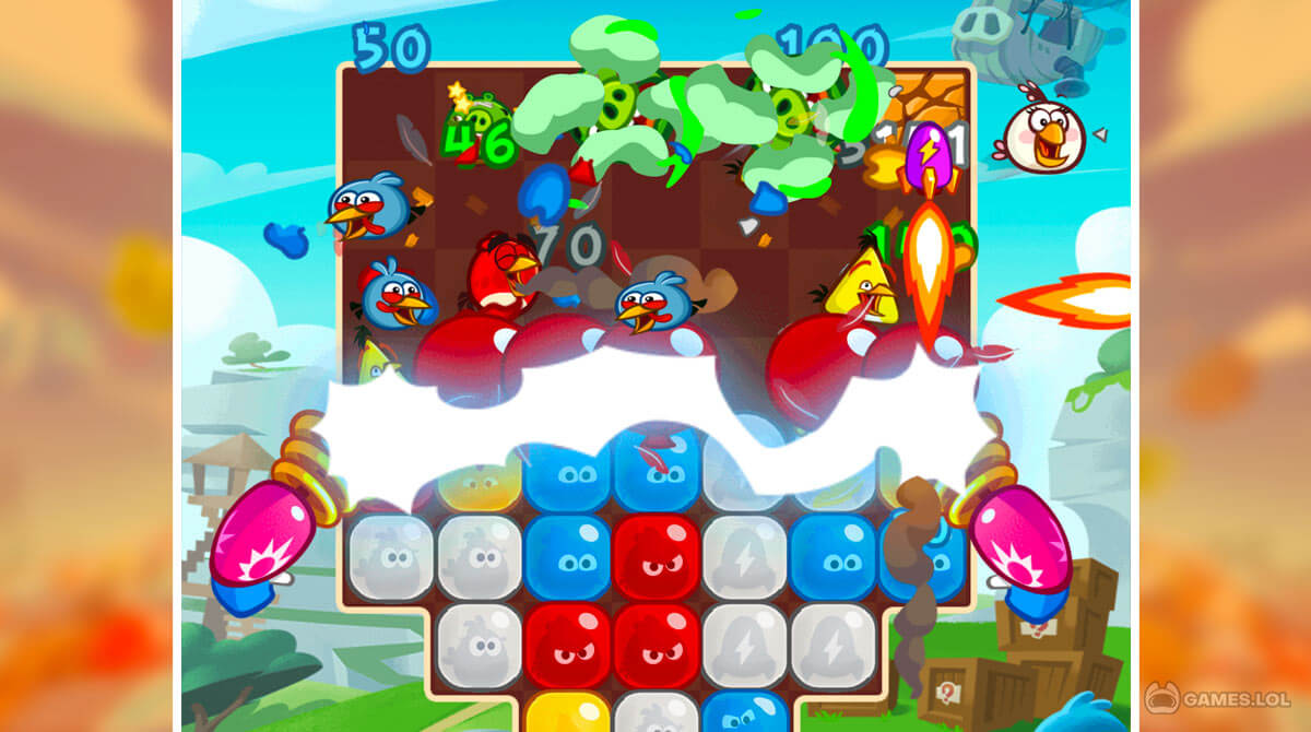 angry birds blast download PC