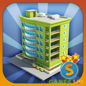 city island builder tycoon tall green building
