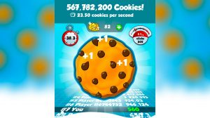 cookie clickers number of clicks