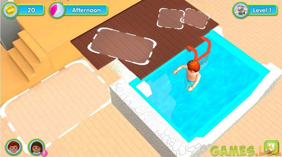 Playmobil Luxury Mansion Swimming Pool
