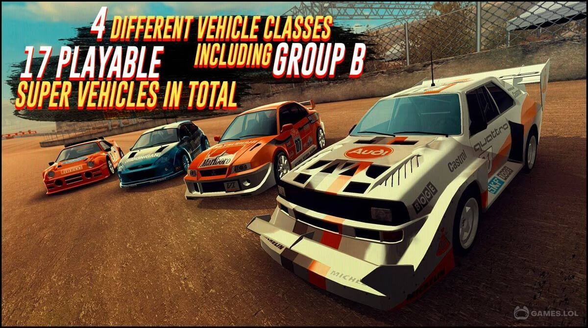 rally racer evo download PC free