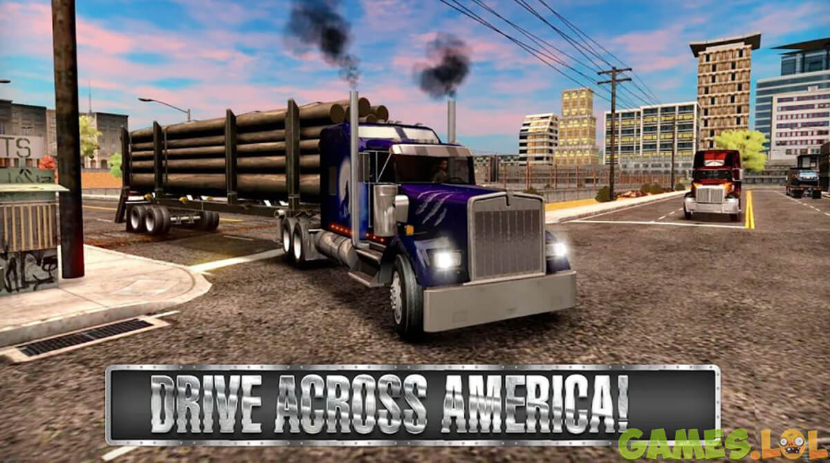 Truck Simulator USA Log Container