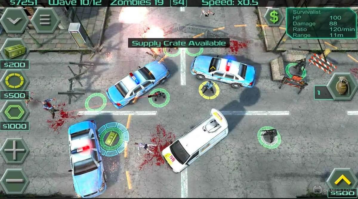 zombie defense download PC free